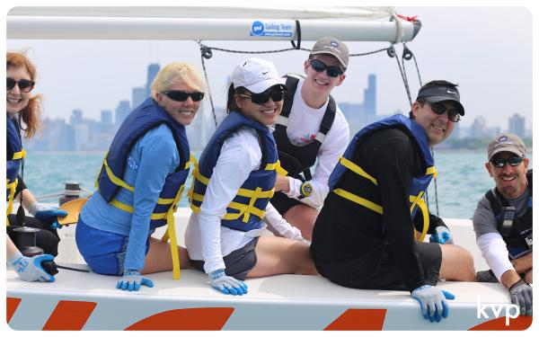Smiling BoatWorks Sailors